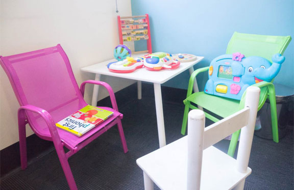 Waiting Room Play Area